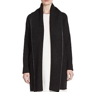 Vince Alpaca, Cashmere, and Wool Blend Open Jacket